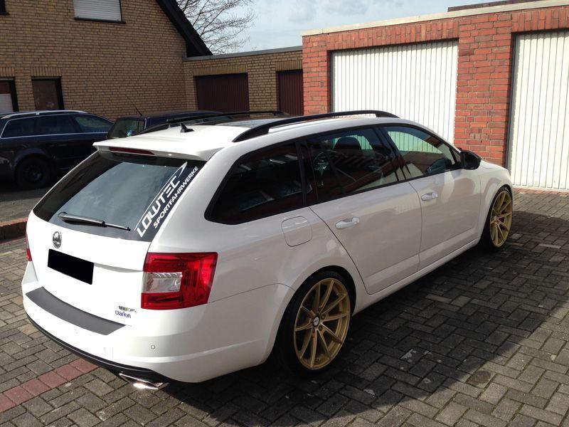 Skoda Octavia Rs Combi Deluxe Wheels Deutschland Autok