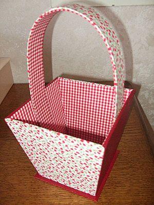 panier d coratif le tuto l 39 atelier de sams cartonnage pinterest paniers d coratifs. Black Bedroom Furniture Sets. Home Design Ideas