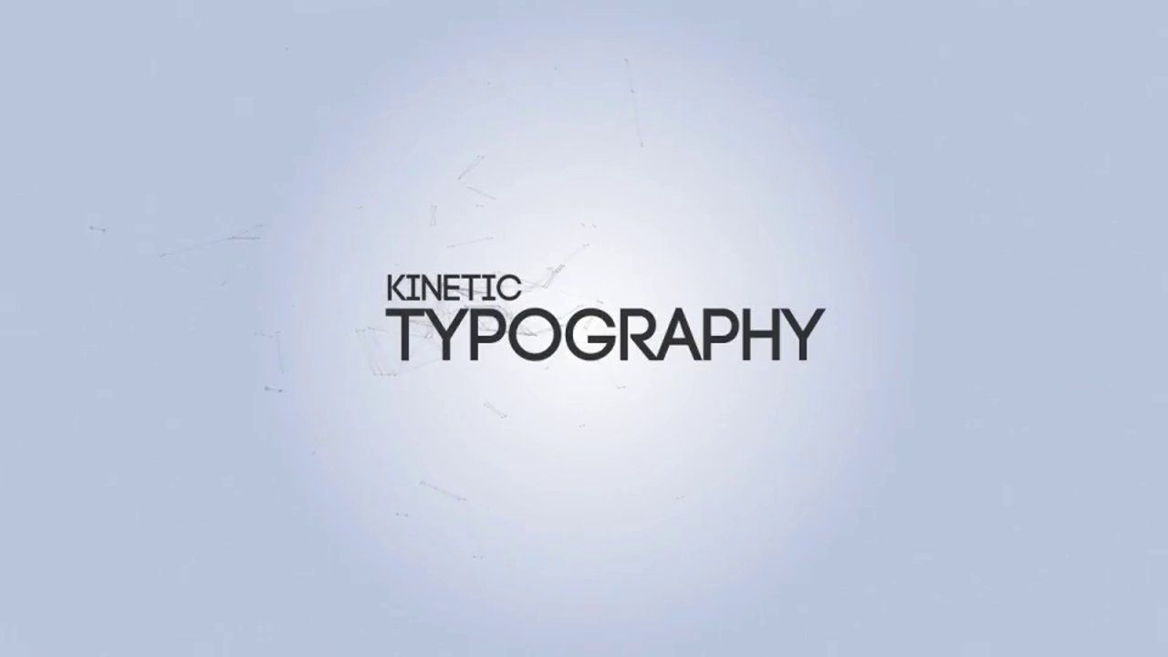 After Effects Template - Kinetic Typography Engine