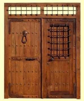 Portones cl sicos de madera tendencias decora ilumina - Portones de madera antiguos ...