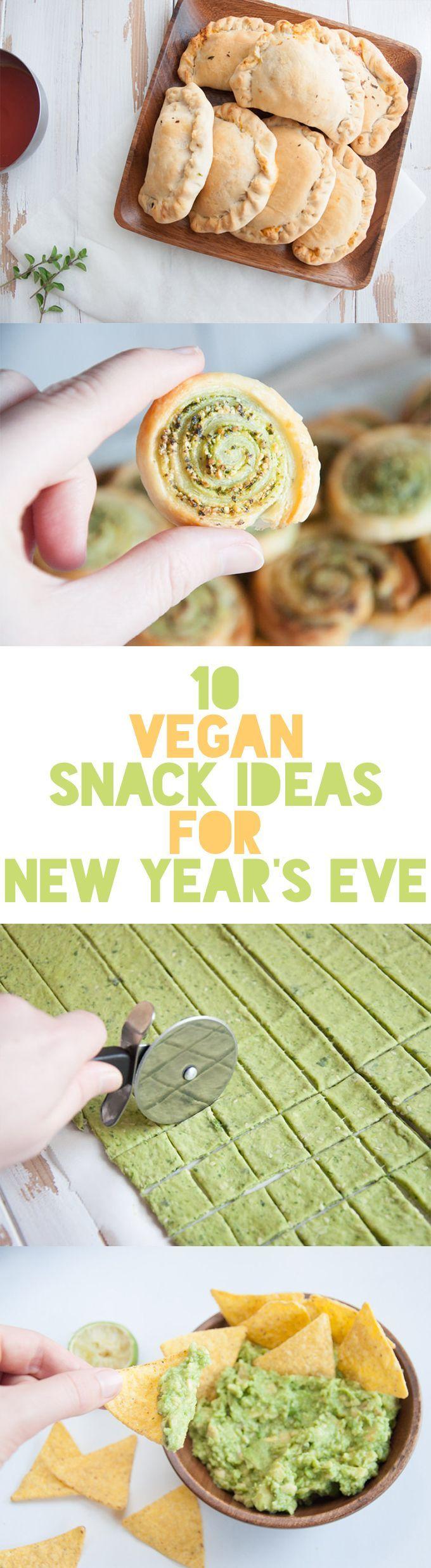 10 Vegan Snacks For New Year S Eve Elephantastic Vegan Vegan Snacks Vegan Party Food Vegan Appetizers