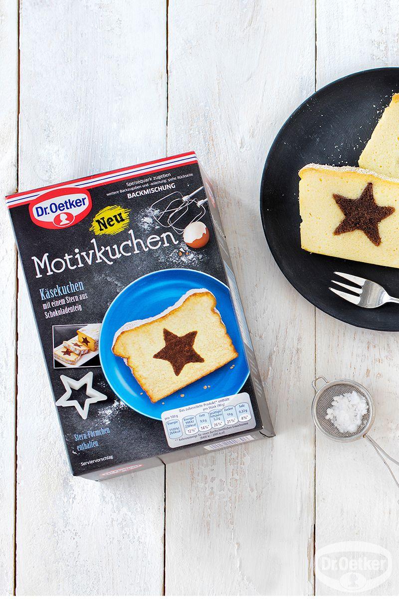 Motivkuchen Stern Dr Oetker Motivkuchen Stern Die Saftige Kasekuchen Backmischung Mit Einem Stern Aus Schokoladenteig Kuchen Dr Oetker Kuchen Kastenkuchen