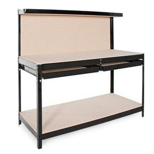 Excellent For Garage Gorilla Rack 5 Ft Rack Industrial Work Bench Gmtry Best Dining Table And Chair Ideas Images Gmtryco