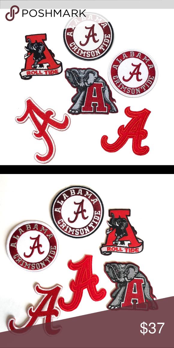 Iron on Alabama Patch