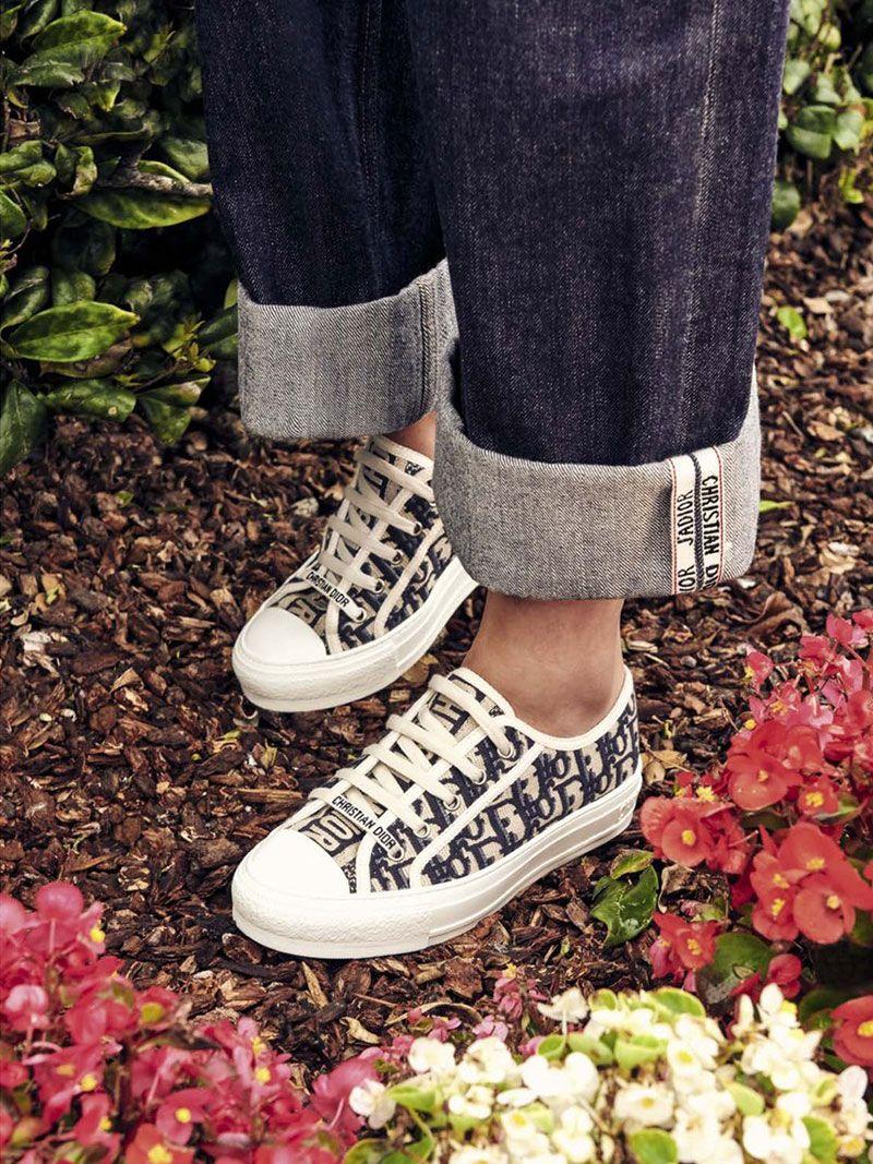 Walk'n'Dior Sneaker Blue Dior Oblique