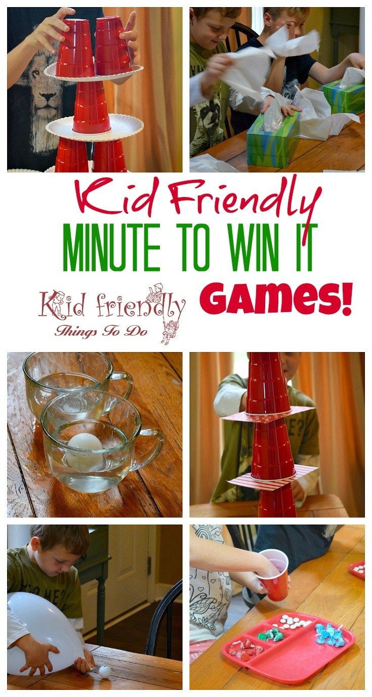 Our Valentine Minute To Win It Party Fun Family Ideas Pinterest