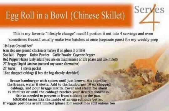 Phase 3 Eggroll in a Bowl #eggrollinabowl Phase 3 Eggroll in a Bowl #eggrollinabowl