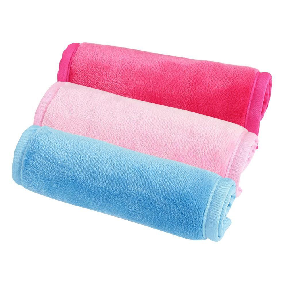 Three Colors Microfiber Face Cloths Facial Cloths Microfiber