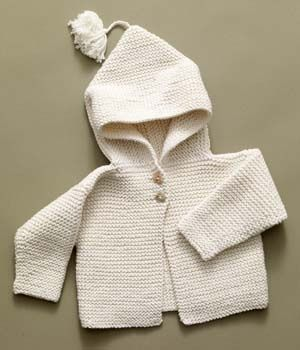 e37cd221df5c1 Knitting Pattern  Tied Hoodie SKILL LEVEL  Easy SIZE 6 (12