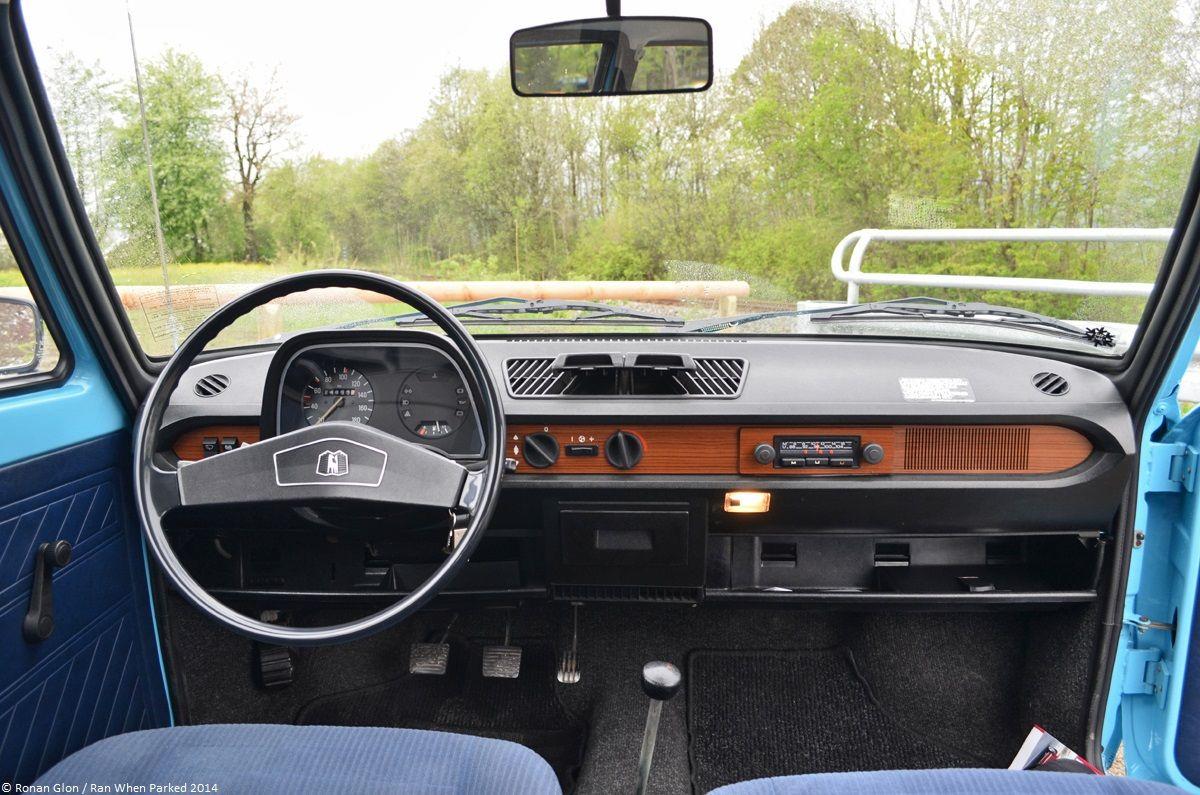 VW Polo MK1 1974 1982 Interior
