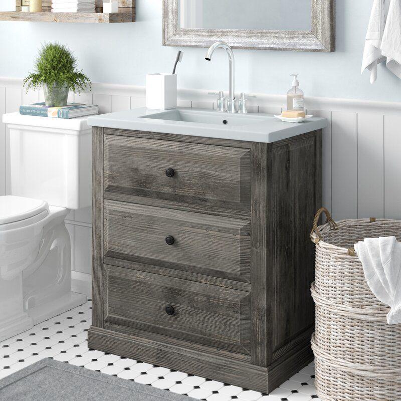 """Laurel Foundry Modern Farmhouse Bellevue 30"""" Single Sink"""