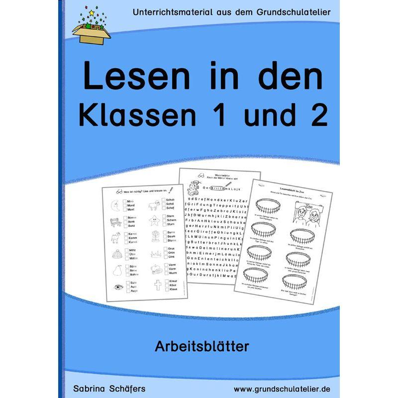 Unterrichtsmaterial zum Lesen/Leseverständnis für die Grundschule ...