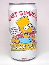 Bart Simpson Clear Cola  255edf7fb
