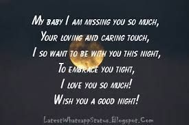 Image Result For Miss You Status Miss You Good Night Text