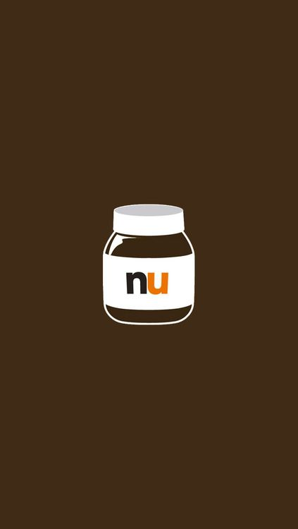 Nutella #kawaii #cute #brown | Free Mobile Phone ...