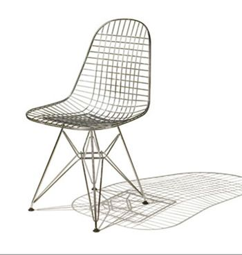 Genial Wire Mesh Chair, 1951 1953 Bent Steel, Welded Steel Design: Charles And Ray  Eames For Herman Miller *Lecture: American Modern*