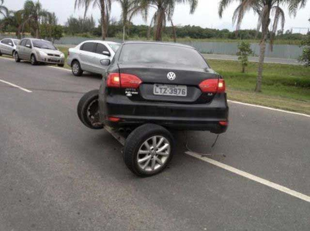 Ah there's your problem    Transforming car fail    LOL