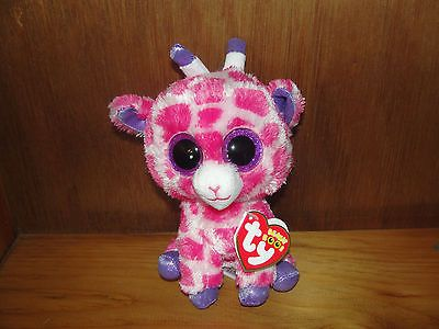 892f888ff43 Ty Beanie Boo Twigs the Pink Giraffe Mint with Tags NEW! 2014 release