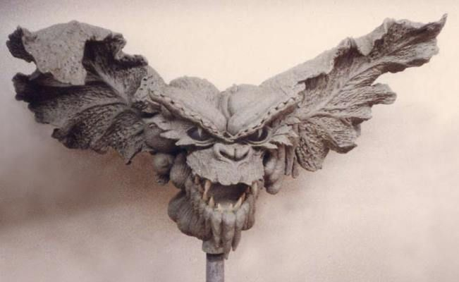 Gremlins II  The New Batch  1990 one of the gremlin character's head sculpted for Rick Baker's Cinnovation Studios