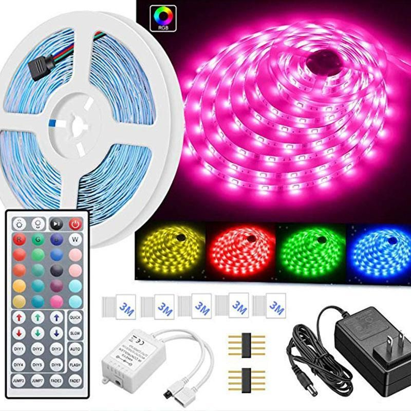 Color changing with remote for home lighting kitchen bed