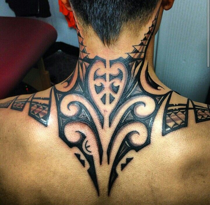 Polynesian Full Back Tattoos: So Amazing! #polynesian #tattoo