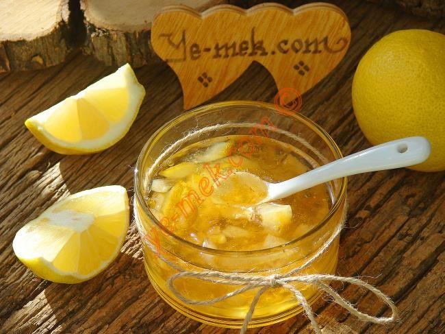 Limon Reçeli Resimli Tarifi - Yemek Tarifleri