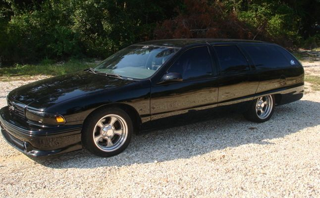 1991 Chevy Caprice Wagon Rides Magazine Long Roof Love