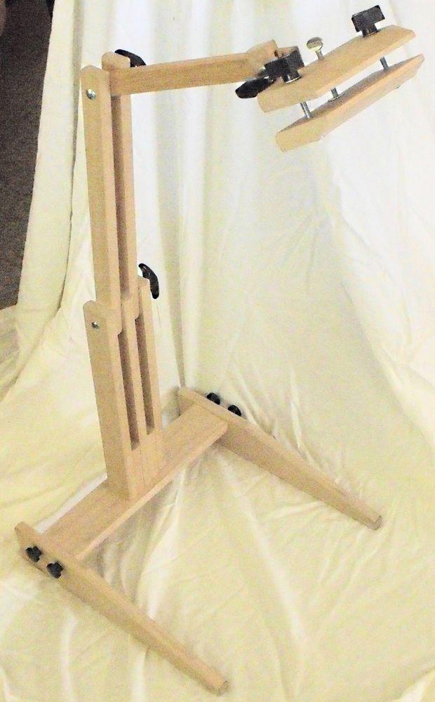 Gripit Deluxe Floor Model Needlepoint Frame holder   Needlepoint and ...