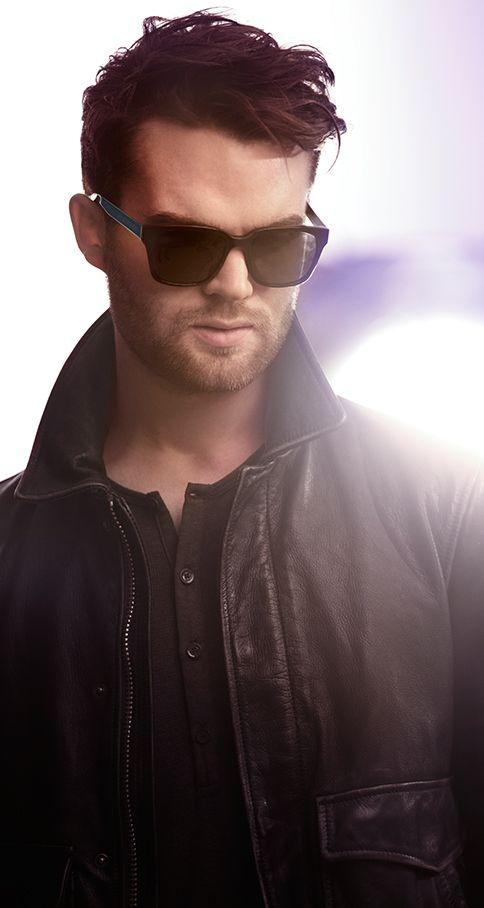 a2057da1344d British musician Jack Gourlay wearing a pair of Burberry Spark Sunglasses