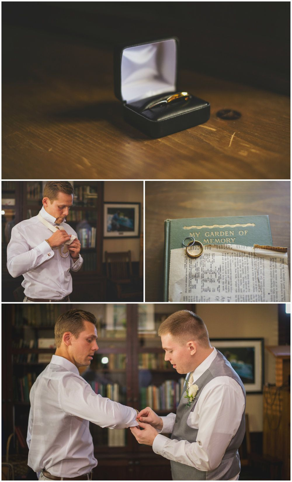 Ryen & Dustin's Lake Geneva Wedding Day — HMS Photography