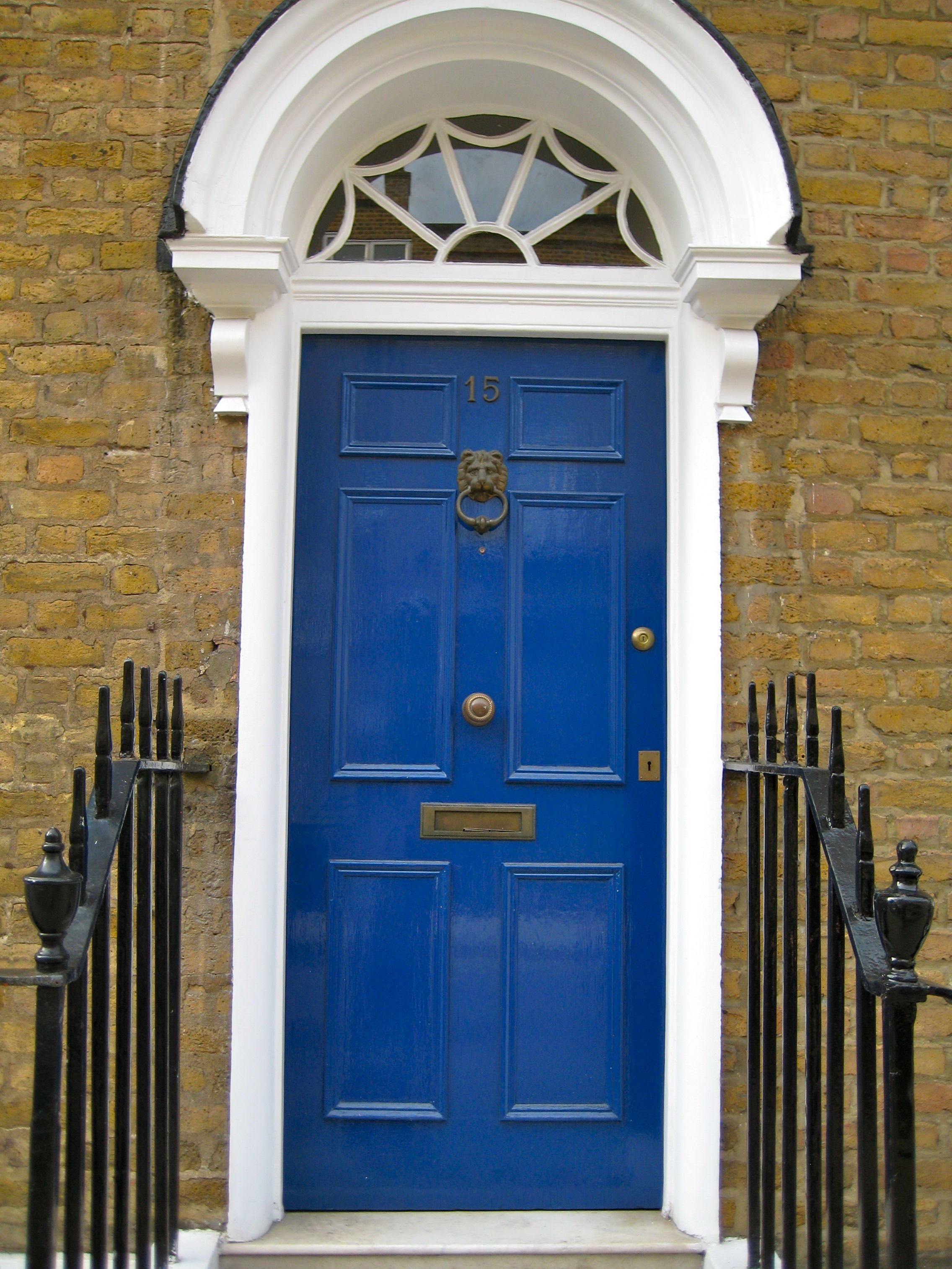 Dark blue front doors - Blue Front Door Paint Colors Paint A Front Door Demystifying