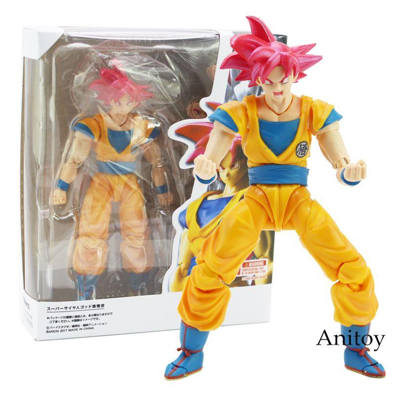 SHF S.H.Figuarts Dragon Ball Z Super Saiyan 3 Son Goku PVC Action Figure hot