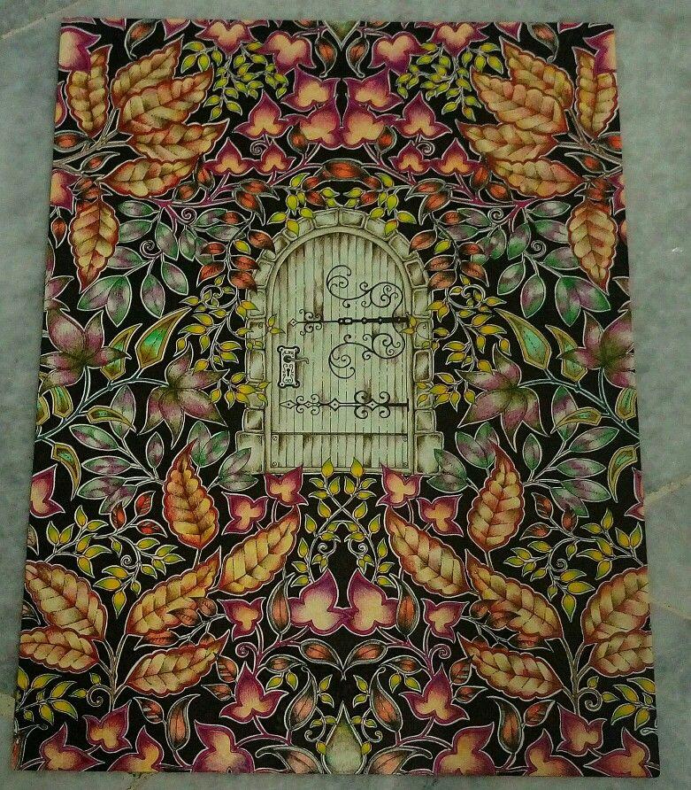 Secret Garden Enchanted Forest Adult ColoringColoring BooksPencil