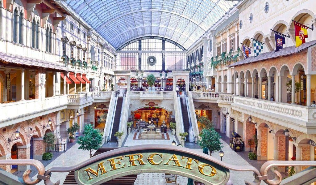 Mercato Mall, Dubai World famous places, Dubai shopping