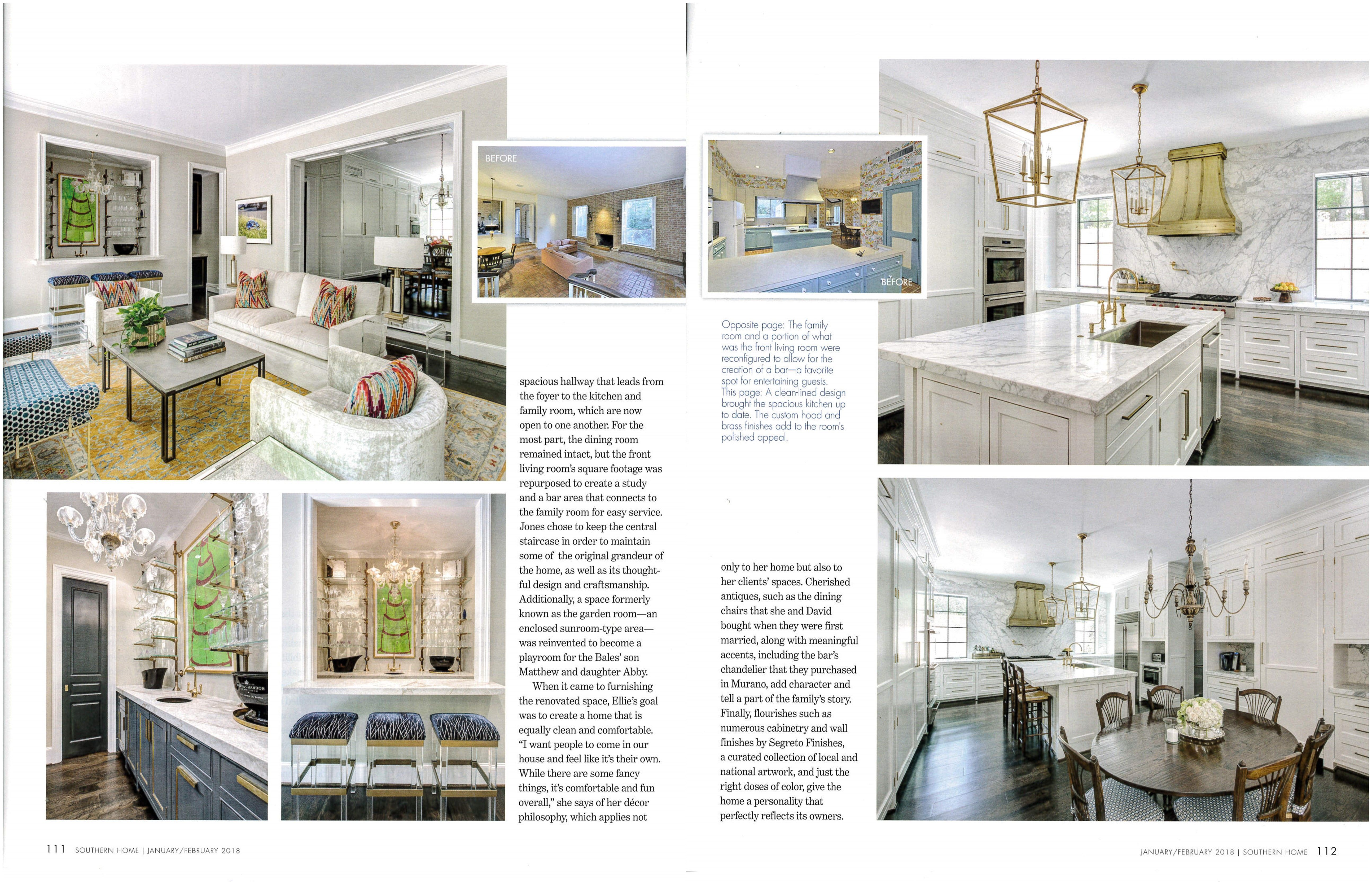 In The Limelight - Southern Home 2018 January  February