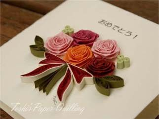 Toshi の制作|Toshi's Paper Quilling ♪-72ページ目