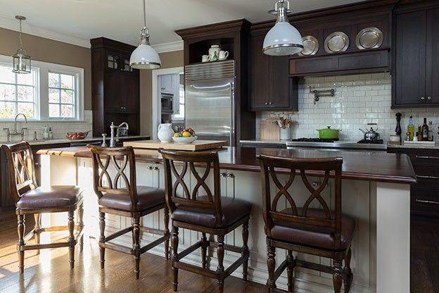 Hudson Valley Lighting Randolph Pendants In Interior Designer Ginny  Padulau0027s Kitchen