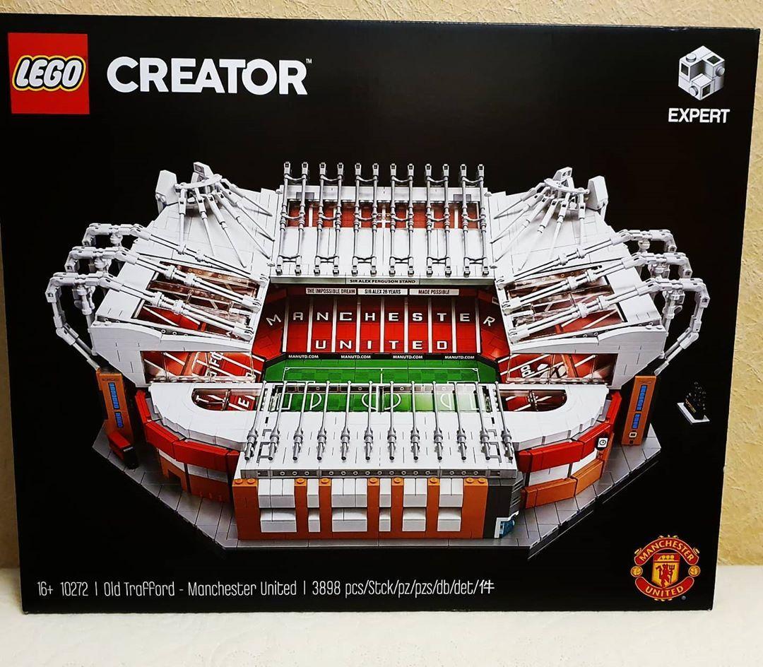 Lego Creator Expert Old Trafford Manchester United Building Kit 10272 In 2020 Big Lego Sets Lego Creator Big Lego