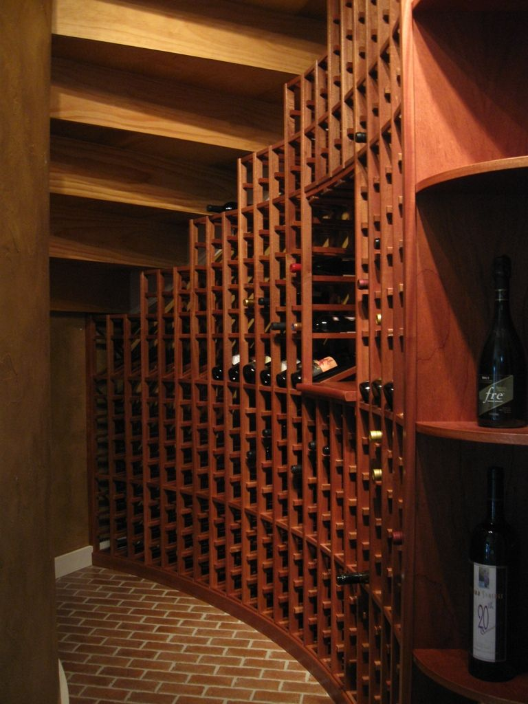 Wine Cellar under curved staircase - Kessick Wine Cellars & Wine Cellar under curved staircase - Kessick Wine Cellars | Wine ...