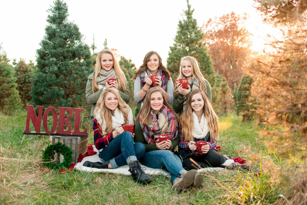 Winter Senior Model Session | Christmas Tree Farm - Hartsburg, Missouri -  Morgan Lee Photography - Winter Senior Model Session Christmas Tree Farm - Hartsburg
