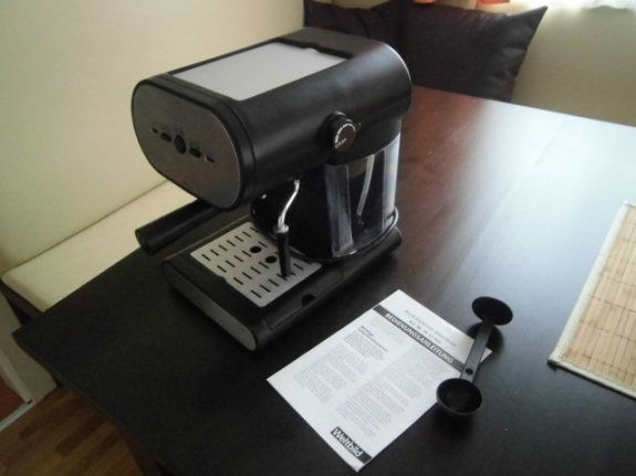 """Espressomaschinen zum """"Einspannen"""" von Kaffee (wie im Kaffeehaus)"""