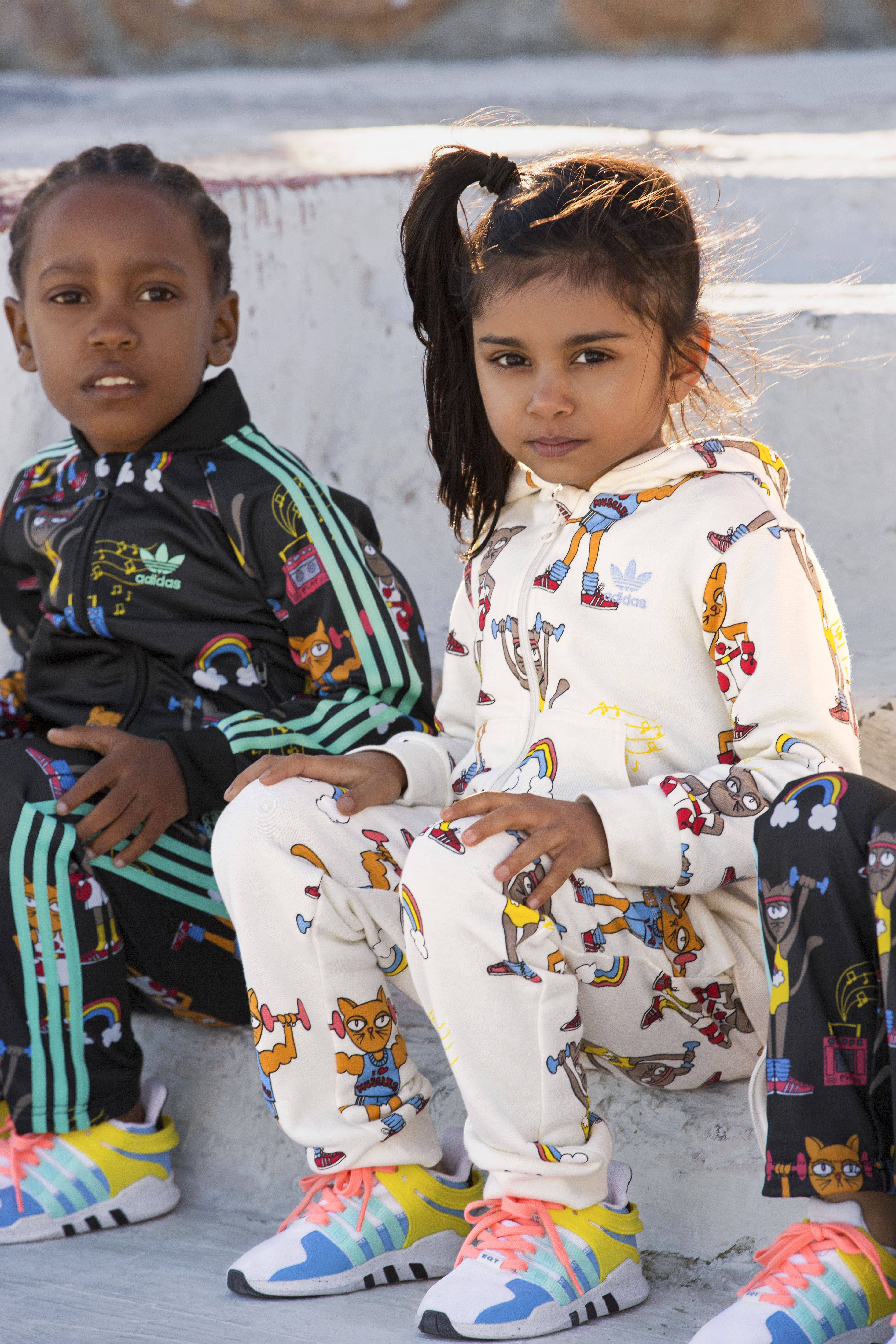 Here's the New Adidas Originals Childrenswear Collab With