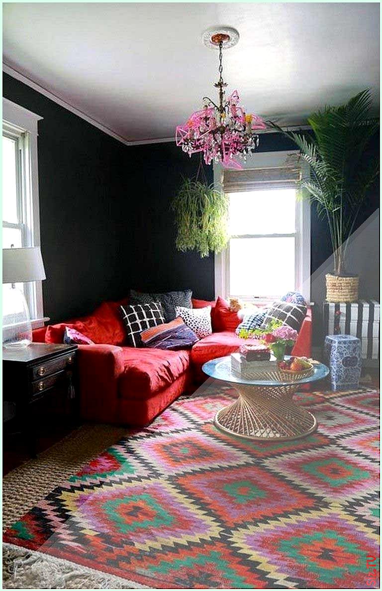 40 Gorgeous Red Sofa For Living Room Arrangement Ideas