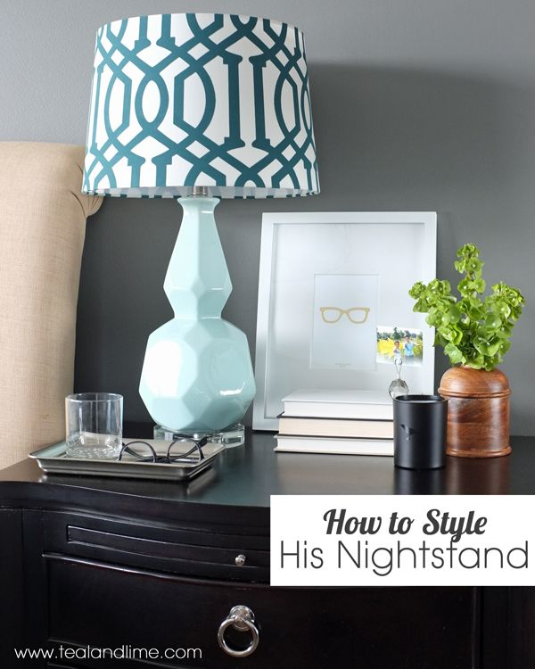 how to decorate his nightstand nightstands decorating and night