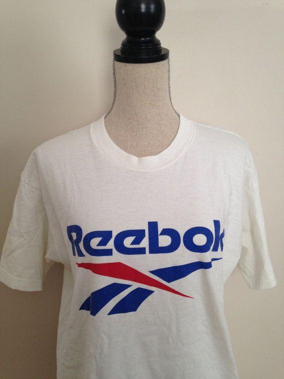 f0f51ddf9efa8 Vintage Reebok Tshirt by 21Vintage on Etsy | Vintage Tshirts | T ...