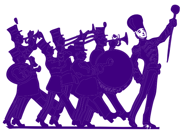 Marching Band Clipart Graphics Images & Pictures - Becuo | art ...