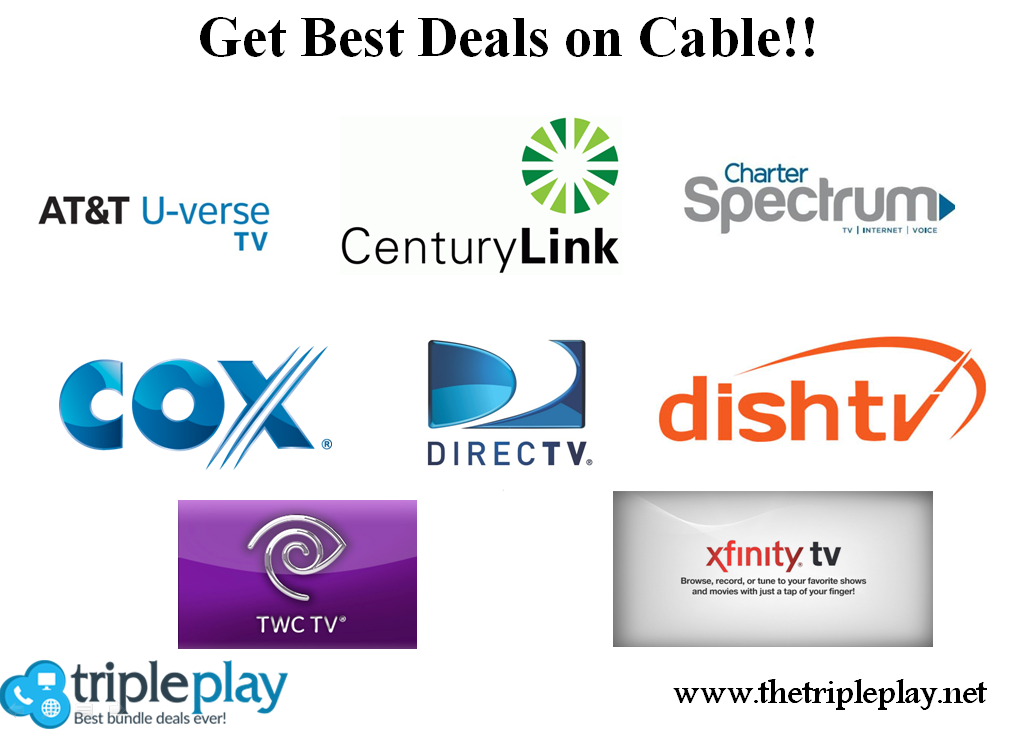 Getting Best Deals On Cable Is Now Easy With The Triple Play Visit Https Www Thetripleplay Net Tv Providers Internet Providers Best Internet Provider