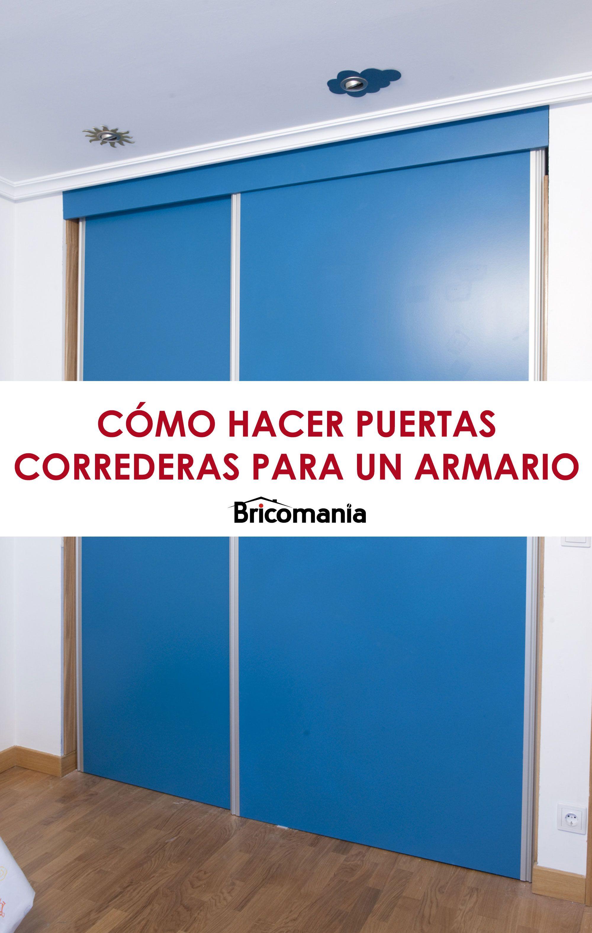Puertas correderas para armario empotrado en 2019 deco for Armario cocina puertas correderas