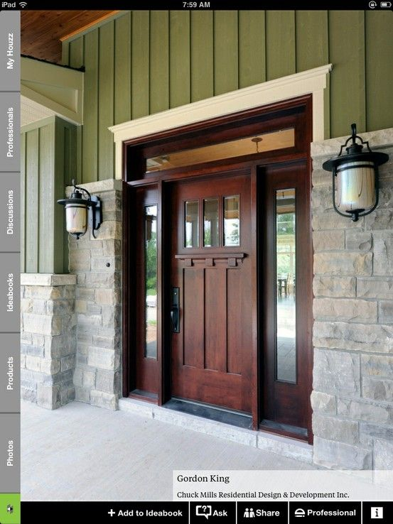 20 colorful front door colors | Houzz, Front doors and Doors