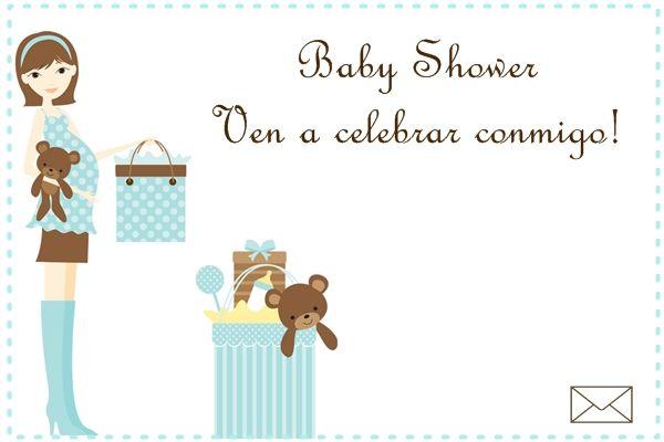 Tarjetas virtuales gratis de invitación a baby shower para enviar  Bebé a bordo Pinterest